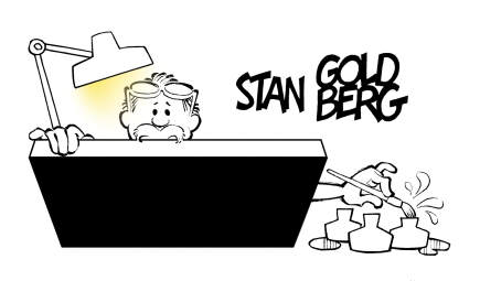 Stan Goldberg, Cartoonist
